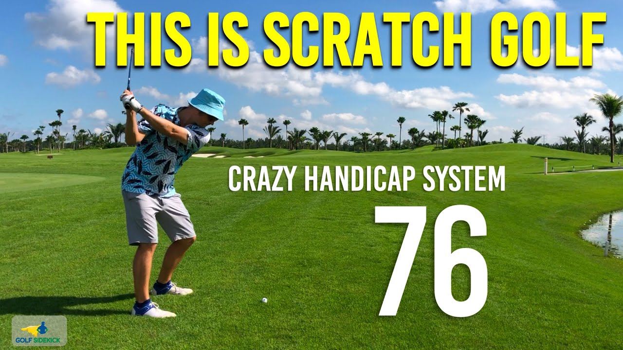 SCRATCH GOLF is NOT scoring 72 every round - How the Handicap System confuses people PART 2