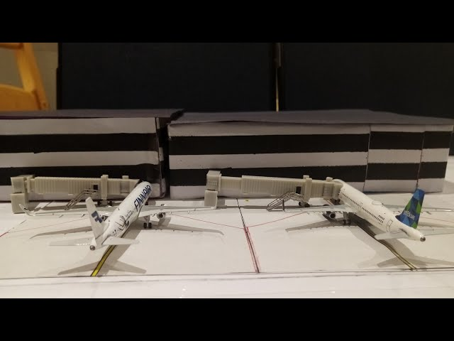 [EASY] HOW TO MAKE A 1/400 MODEL AIRPORT TERMINAL