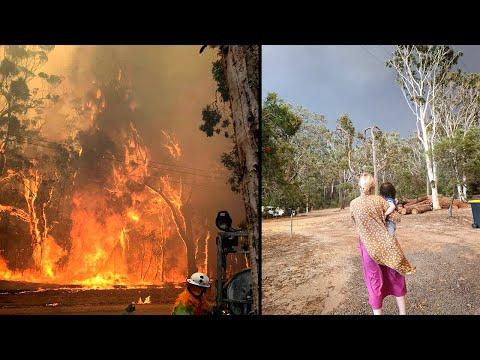 Our Australian Fires Experience. Stranded! No Electricity, No Phone Reception, No Internet, No Car