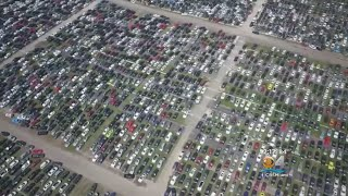 Flooded Vehicles From Hurricane Harvey Hitting Resale Market