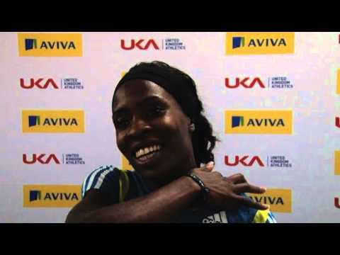 Aviva UK Indoor Trials & UK Championships - Marilyn Okoro