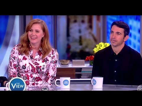 Amy Adams And Chris Messina Discuss New Series 'Sharp Objects'  The View
