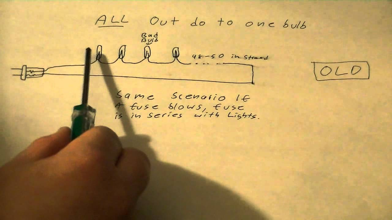 Wiring Diagrams For Lights Lewis Dot Diagram Hbr How Christmas Work (why When One Bulb Burns Out They All Go Out, And About New ...