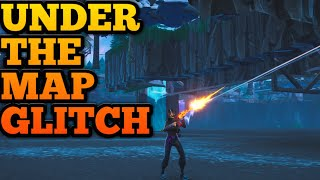 How to get UNDER THE MAP in Fortnite (Season 10 glitches)