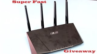 Asus RT-AC87U Router Overview + Giveaway!