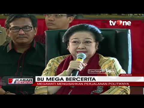 Megawati Ceritakan Perjalanan Politiknya di Hadapan Milenial