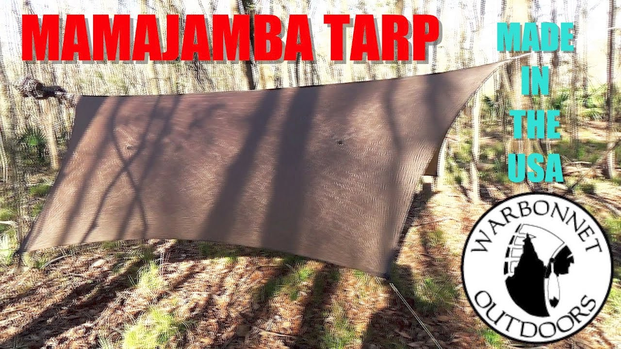 is this the best tarp for hammock camping    the mamajamba tarp from warbon  outdoors is this the best tarp for hammock camping    the mamajamba tarp      rh   youtube