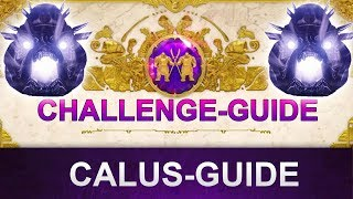Destiny 2 Leviathan-Raid: Calus Challenge Guide (Deutsch/German)