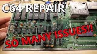 Resurrected: Fixing a sad broken C64
