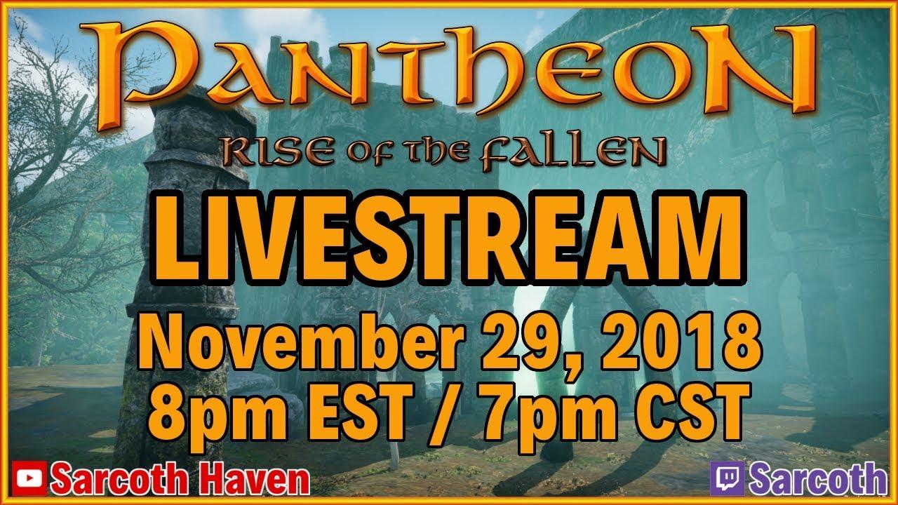 Pantheon: Rise of the Fallen ▻ Streamer Program ▻ Pre-Alpha 4