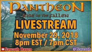 Pantheon: Rise of the Fallen ► Streamer Program ► Pre-Alpha 4 ► Druid Gameplay