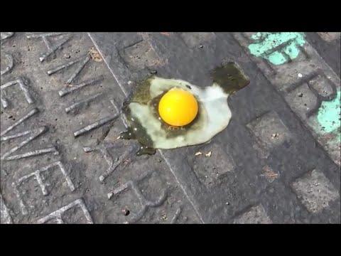 Fry an Egg on the Sidewalk! June 2016 Gilbert AZ