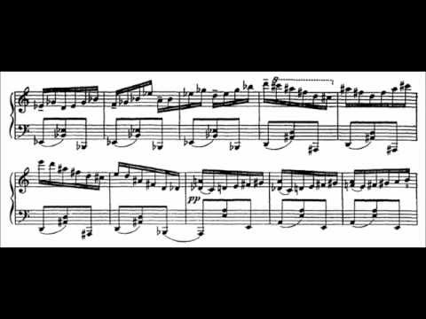 "Sergei Prokofiev - Scherzo, from ""10 Pieces, Op. 12"" (audio + sheet music)"