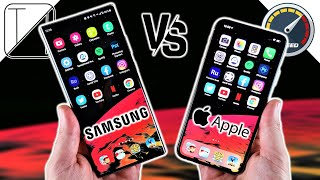 Samsung Galaxy Note 20 Ultra vs iPhone 11 Pro Max Speed Test