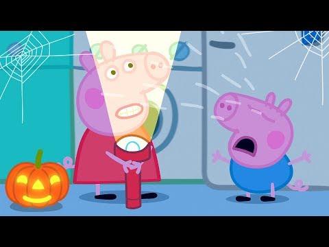 Peppa Pig en Espaol Episodios   Escalofriante!  Feliz Halloween!  Pepa la cerdita