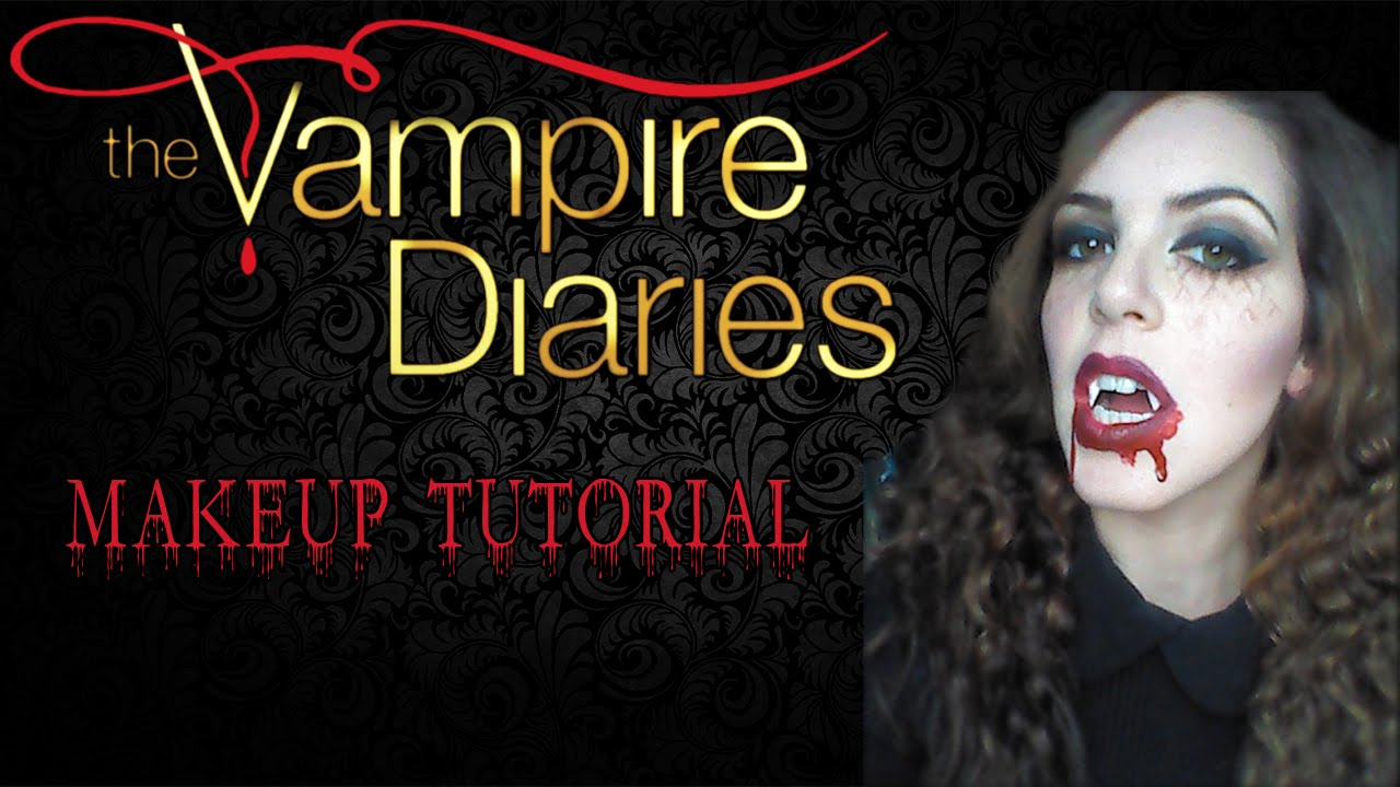 The Vampire Diaries - Halloween Makeup Tutorial - YouTube