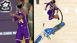 ALL STAR DUNK CONTEST! 360 Dunk Over Motorcycle! NBA 2k19 MyCareer Ep.27