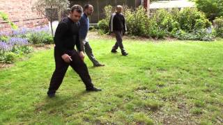 Xing Yi Quan Footwork: Sawtooth Stepping and Timing (Hsing I Chuan)