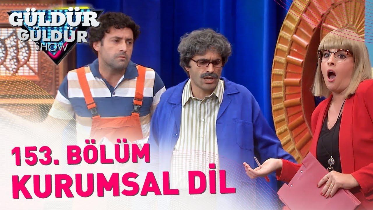 Güldür Güldür Show 153 Bölüm Kurumsal Dil Youtube