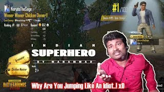 PUBG Mobile Game Play EPISODE 4 | Solo | FPP | Indian SuperHero Style