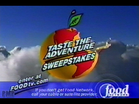 "food-network-""taste-the-adventure-sweepstakes""-(2001)"