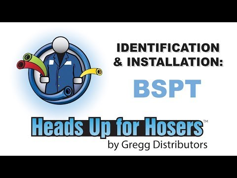 BSPT Fittings / Thread - Identification & Installation - Heads Up For Hosers