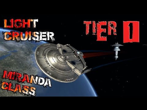 Miranda Class, Light Cruiser [T1] with all ship visuals - Star Trek Online
