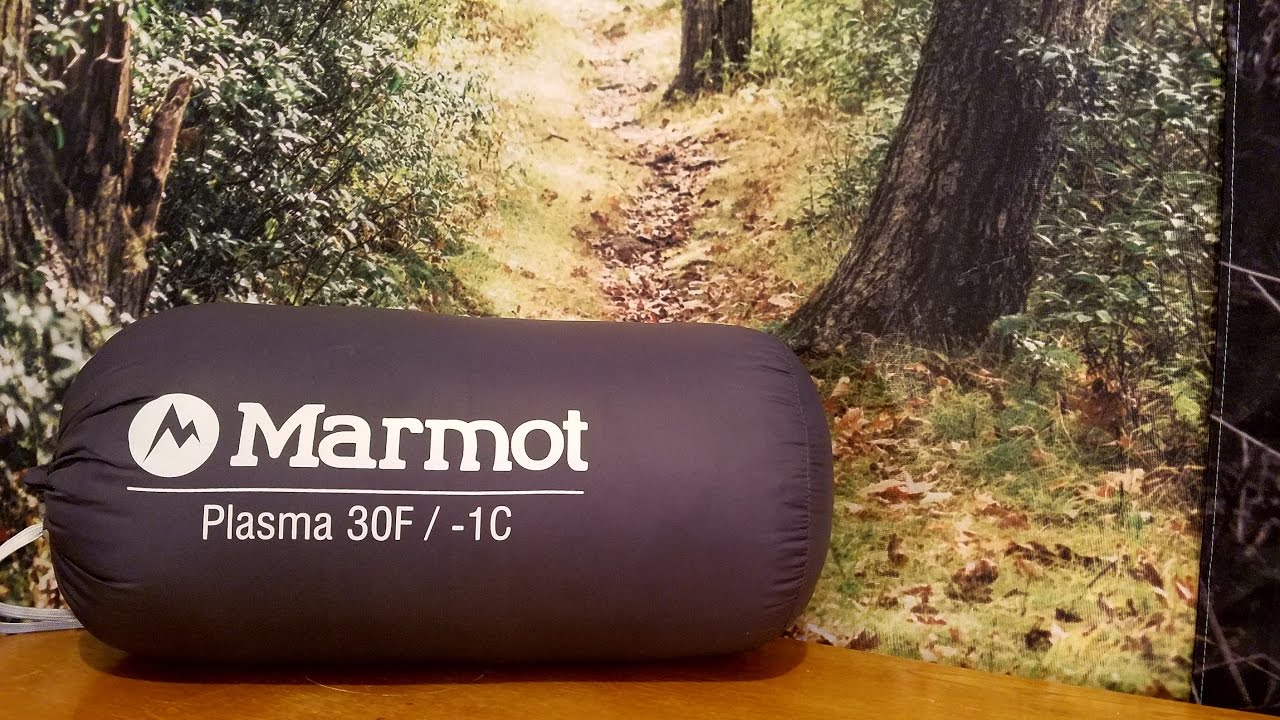 Marmot Plasma Sleeping Bag Review - YouTube