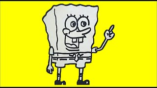 Drawing SpongeBob SquarePants (Menggambar SpongeBob)