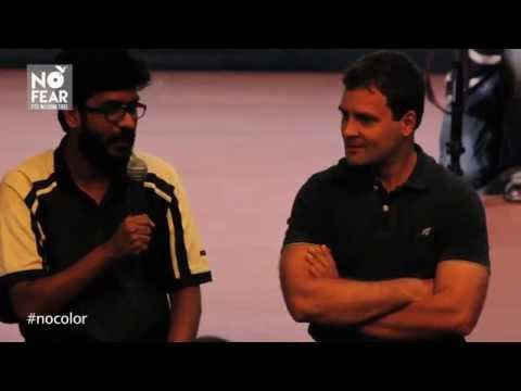 FTII in conversation with Rahul Gandhi