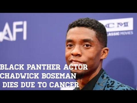 Black Panther Star Chadwick Boseman Dies At 43.