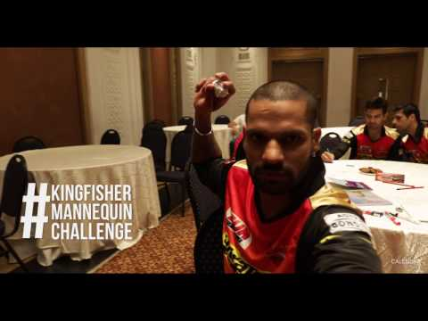 Thumbnail: Kingfisher Premium Calendar presents: #KingfisherMannequinChallenge with the Sunrisers Hyderabad