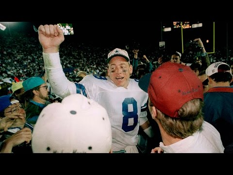 Troy Aikman (QB, Dallas Cowboys) Career Highlights | NFL