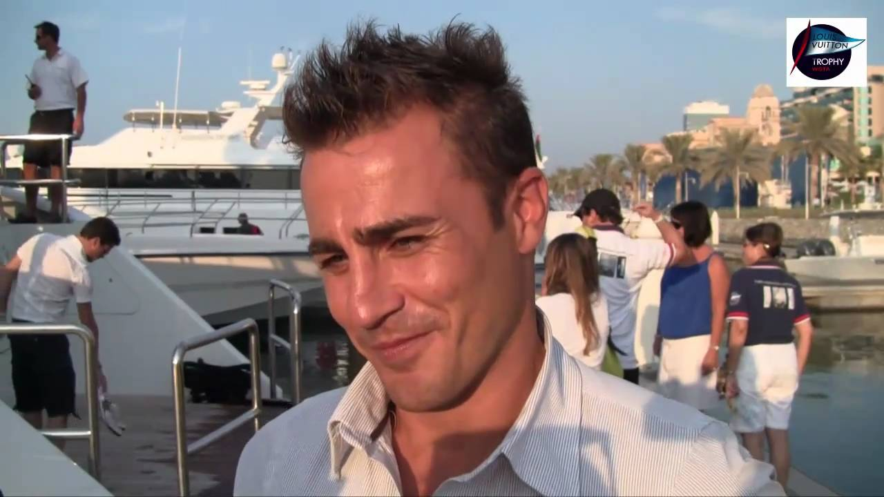 Louis Vuitton Trophy Dubai Fabio Cannavaro