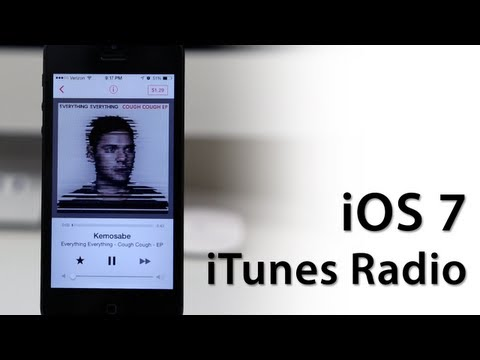 Hands-On iOS 7 With iTunes Radio - New Features