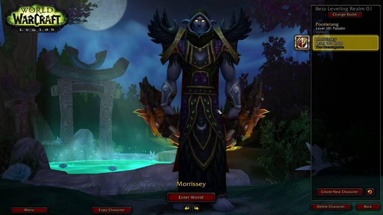 World of Warcraft: Legion - Linux / WINE / OpenGL