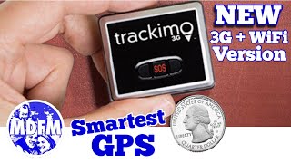 TRACKIMO - World's Smallest Tracking Device / Now 3G + Wifi
