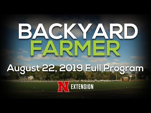 Backyard Farmer August 22, 2019