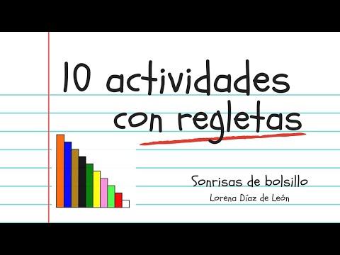 10 Actividades Con Regletas