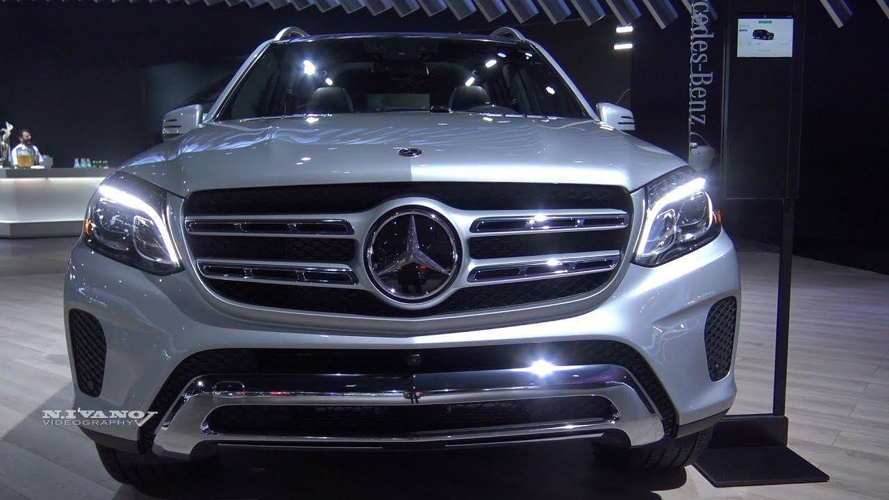 2018 Mercedes Benz Gls 450 Suv Exterior And Interior Walkaround