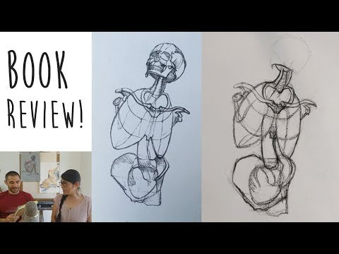 ANATOMY BOOK review & how to use them for life drawing