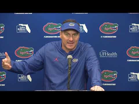 Florida Football: Dan Mullen Postgame 10-27-18