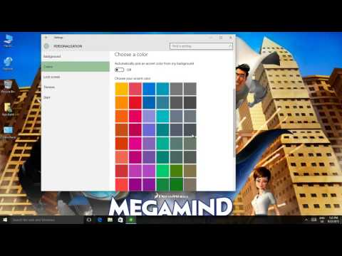 Windows 10 Tutorial | How to Apply Personalize Colors in Windows