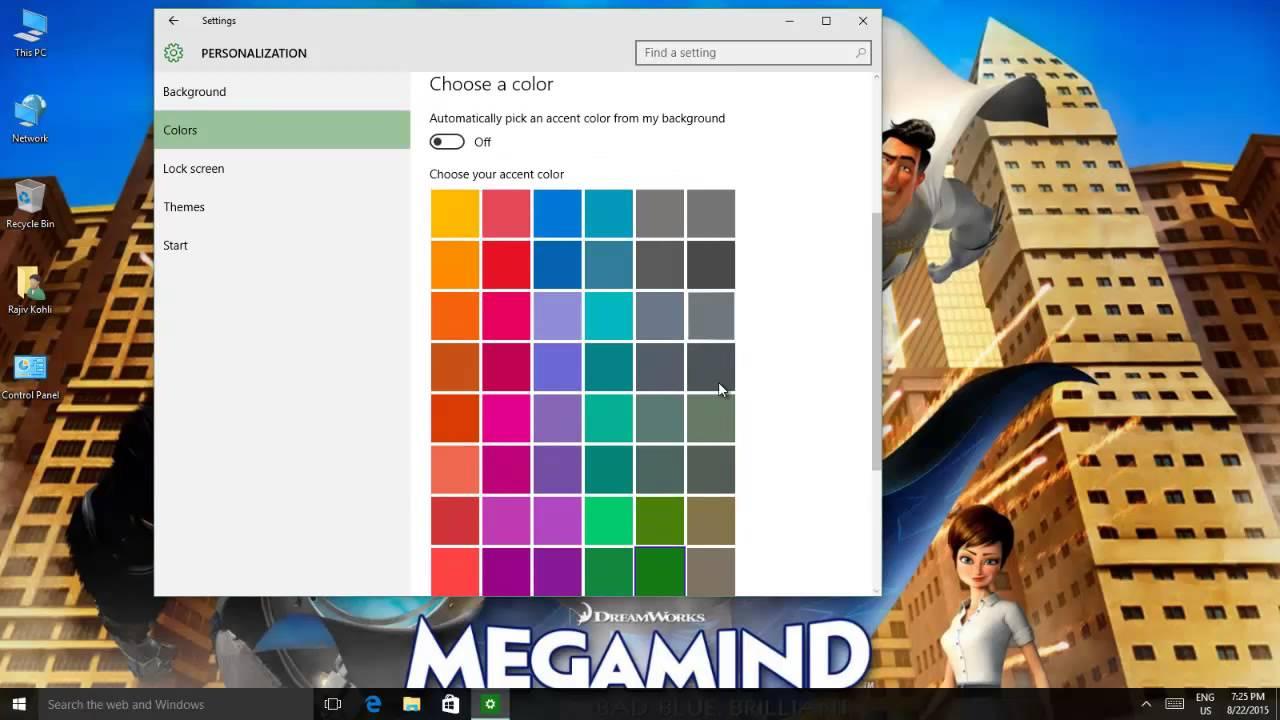 Hướng Dẫn Cách Thêm Màu Vào Windows 10 Đơn Giản - VERA STAR