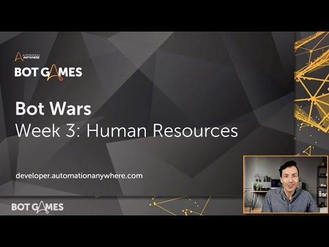 Bot Wars Challenge Page Intro: Human Resources