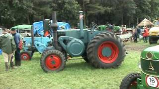 Start Lanz-Bulldog Tractor,nice diesel engine sound!!!