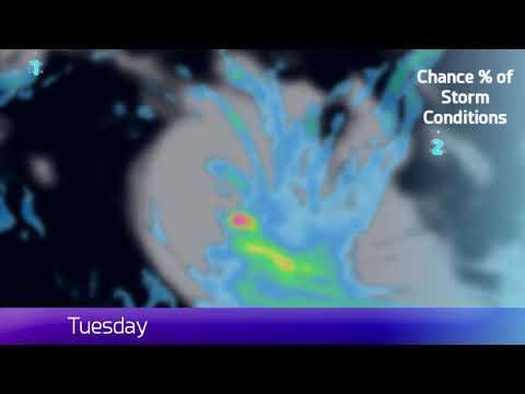 [Cocos Region] Cyclone Flamboyan Update  - April 29, 2018