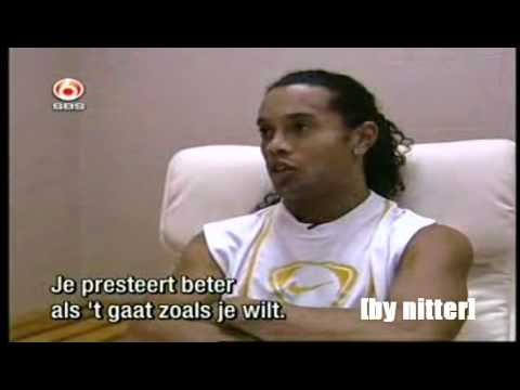 Ronaldinho interview from 2006 [by nitter]