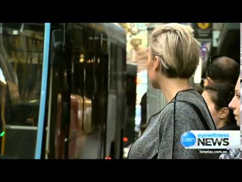 "Ten Eyewitness News Sydney - Government admits public transport system ""broken"" (27/5/2015)"