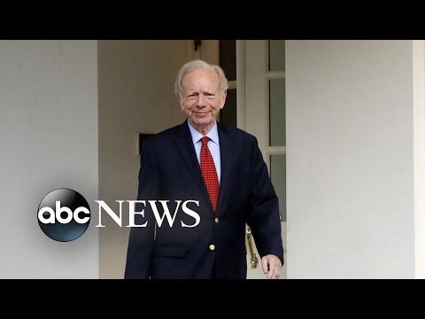 Joe Lieberman emerges as FBI front-runner